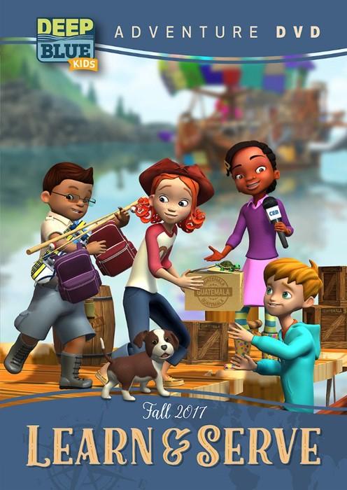 Deep Blue Kids Learn & Serve Adventure DVD Fall 2017 (DVD)