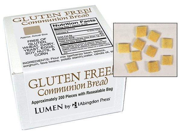 Communion Bread, Gluten-Free (Box of 200) (General Merchandise)