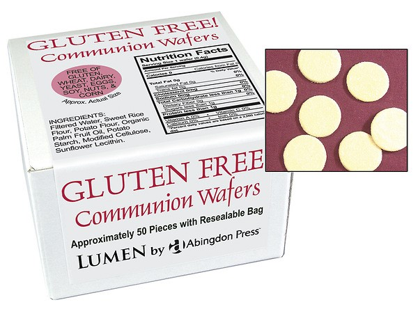 Communion Wafers, Gluten-Free (Box of 50)