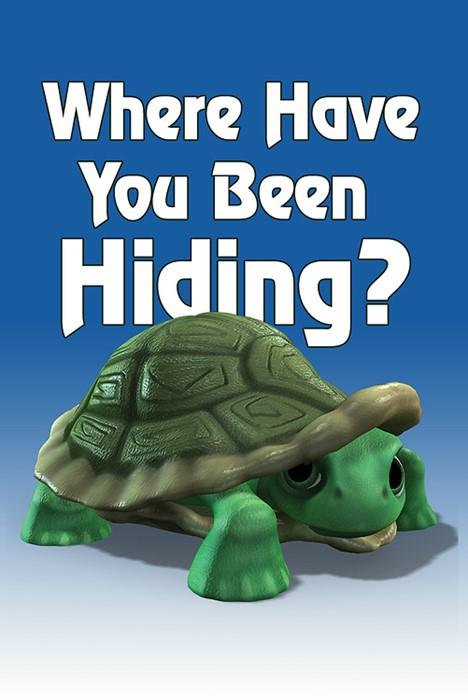Deep Blue Kids Speedy Where Have You Been Hiding Postcard (P (Postcard)