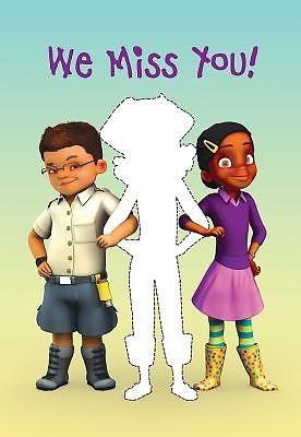 Deep Blue Kids We Miss You! Postcard (Pkg of 25) (Postcard)