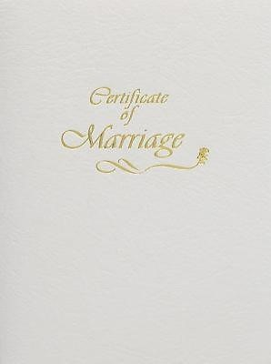 Contemporary Steel-Engraved Marriage Certificate (Pkg of 3) (Miscellaneous Print)