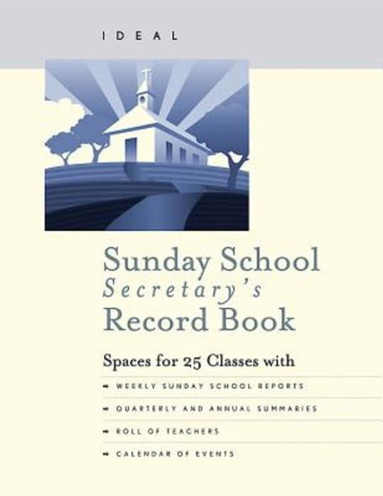 Ideal Sunday School Secretary's Record Book (Miscellaneous Print)