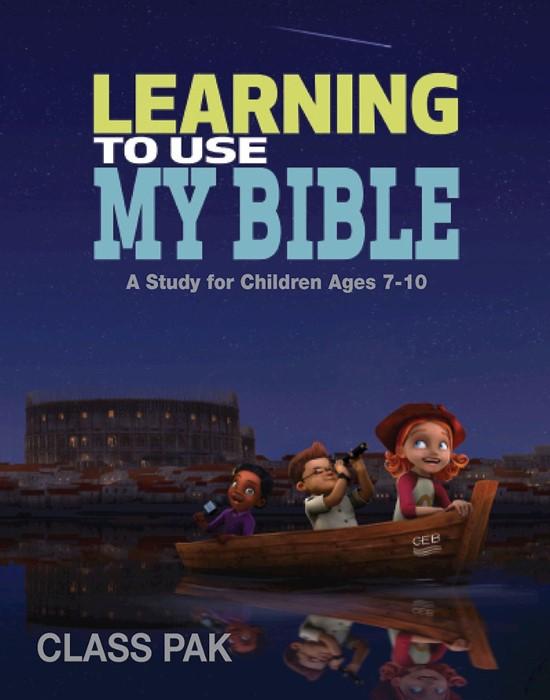 Learning to Use My Bible Class Pak (Postcard)