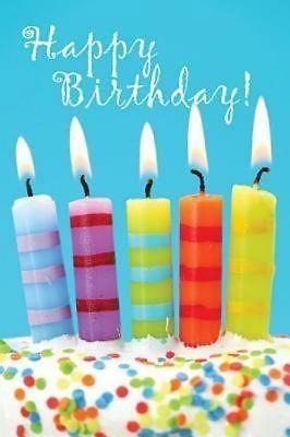 Birthday Candles & Cake Postcard (Pkg of 25) (Postcard)