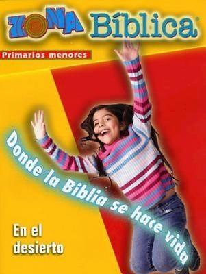 Zona Biblica En el Desierto Younger Elementary Leader's Guid (Postcard)