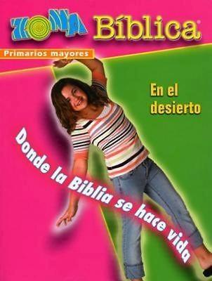 Zona Biblica En el Desierto Older Elementary Leader's Guide (Postcard)