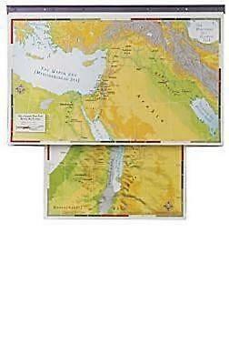 Abingdon Bible Land Maps with Charthead--Set of 8 (Miscellaneous Print)