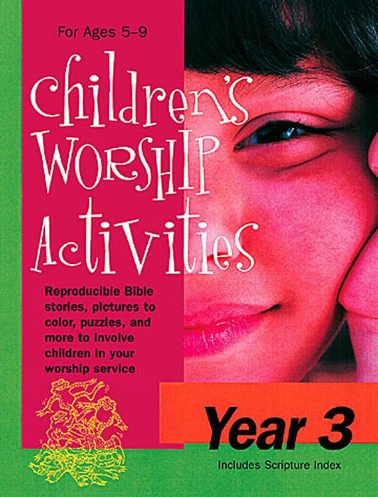 Children's Worship Activities Year 3 (Miscellaneous Print)