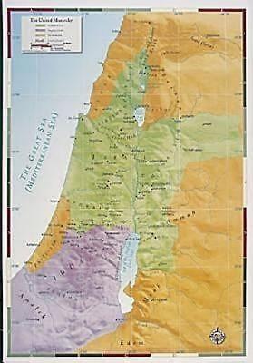 Abingdon Bible Land Map--The United Monarchy (Miscellaneous Print)