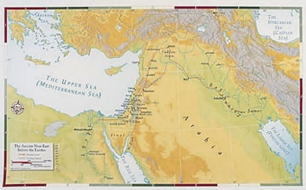 Abingdon Bible Land Map--Ancient Near East Before the Exodus (Miscellaneous Print)