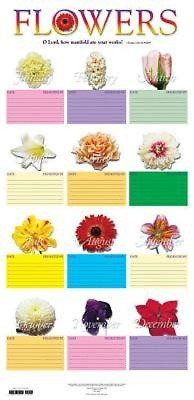 Flower Chart in Tube (Miscellaneous Print)