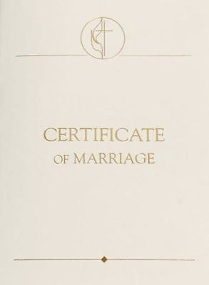 United Methodist Certificates of Marriage with 1984 Service (Miscellaneous Print)