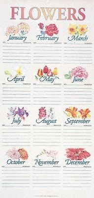 Traditional Flower Chart in Tube (Miscellaneous Print)