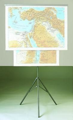 Abingdon Class Map Tripod Only (Miscellaneous Print)