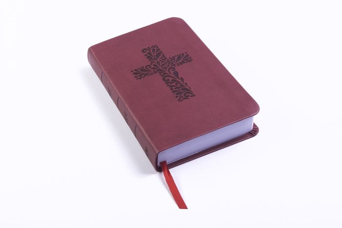 CSB Pocket Gift Bible, Burgundy LeatherTouch (Imitation Leather)