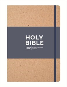 NIV Tan Single-Column Journalling Bible (Hard Cover)