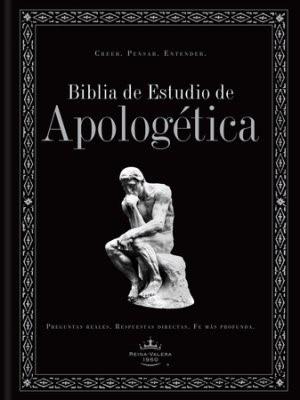 Biblia de Estudio de Apologética, tapa dura (Hard Cover)