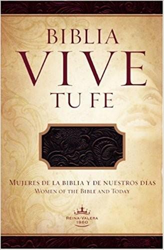 RVR 1960 Biblia Vive tu Fe, arándano agrio piel fabricada (Bonded Leather)