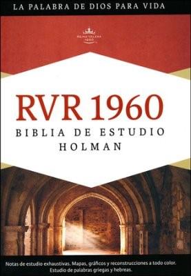 RVR 1960 Biblia de Estudio Holman, tapa dura (Hard Cover)