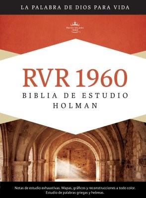 RVR 1960 Biblia de Estudio Holman, tapa dura con índice (Hard Cover)
