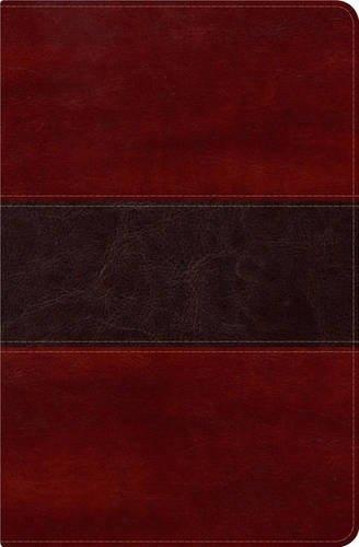 RVR 1960 Biblia del Pescador, caoba símil piel de lujo con í (Imitation Leather)