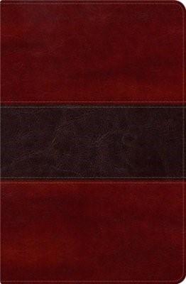RVR 1960 Biblia del Pescador, caoba símil piel de lujo (Imitation Leather)
