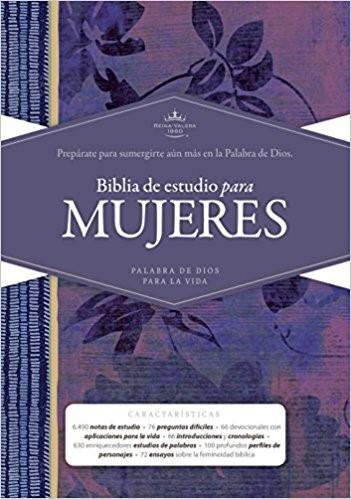 RVR 1960 Biblia de Estudio para Mujeres, tapa dura (Hard Cover)