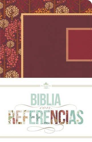 RVR 1960 Biblia con Referencias, otoñal, frambuesa/rosado sí (Imitation Leather)