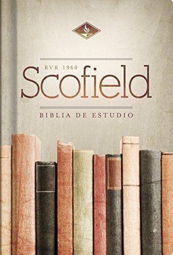 RVR 1960 Biblia de Estudio Scofield, tapa dura (Hard Cover)