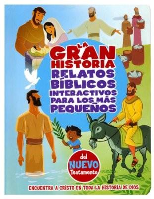 La Gran Historia, Relatos Bíblicos para los más pequeños, de (Board Book)