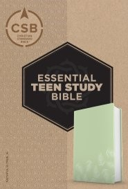 CSB Essential Teen Study Bible, Personal Size, Green Psalms (Imitation Leather)