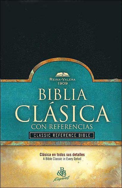 RV 1909 Biblia Clásica con Referencia, negro imitación piel (Imitation Leather)