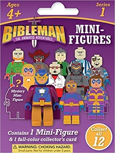 Bibleman Mini Figure (Case of 36) (Other Merchandise)