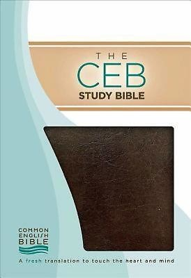 CEB Study Bible, Brown Bonded Leather (Leather Binding)