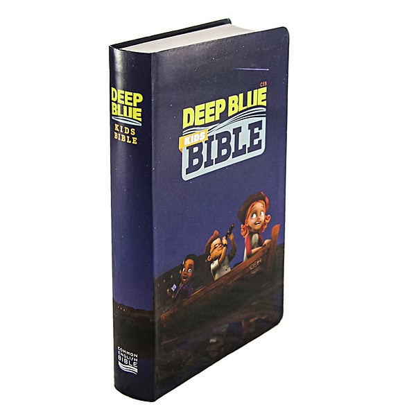 CEB Common English Deep Blue Kids Bible ImageFlex Cover (Paperback)