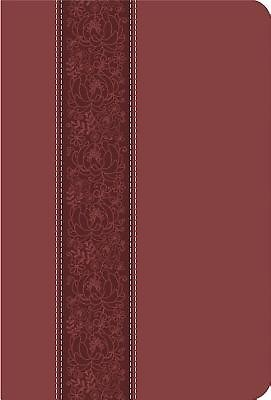 CEB Common English Large Print Thinline DecoTone Bible Cinna (Leather Binding)