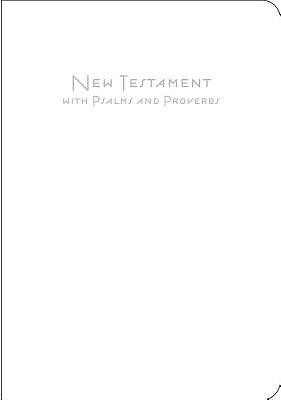 CEB Baby New Testament with Psalms & Proverbs, White (Leather Binding)