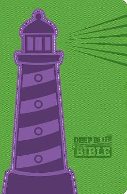 CEB Deep Blue Kids Bible Lighthouse DecoTone (Leather Binding)