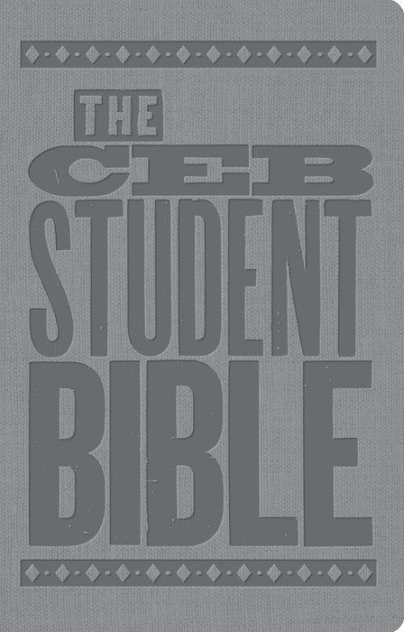 CEB Student Bible for United Methodist Confirmation (Leather Binding)