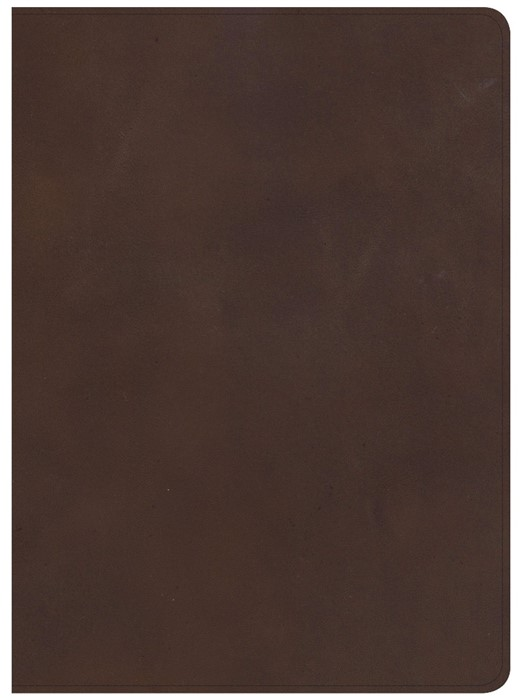 CSB Worldview Study Bible, Brown Genuine Leather (Leather Binding)