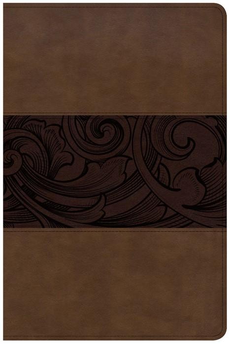 CSB Study Bible, Personal Size Edition, Mahogany (Imitation Leather)