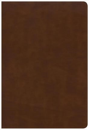 KJV Large Print Ultrathin Reference Bible, Brittish Tan (Imitation Leather)