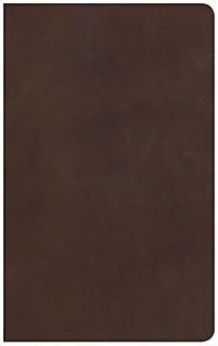 NKJV Ultrathin Reference Bible, Brown Genuine Leather, Index (Leather Binding)