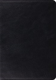 ESV Archaeology Study Bible (Black) (Leather Binding)