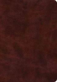 ESV Super Giant Print Bible TruTone, Burgundy (Imitation Leather)