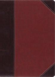 ESV MacArthur Study Bible, TruTone, Brown/Cordovan (Leather Binding)