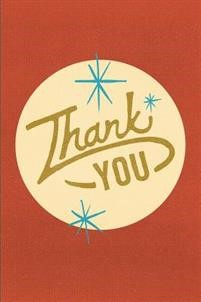 Thank You (Pack of 25) (Pamphlet)