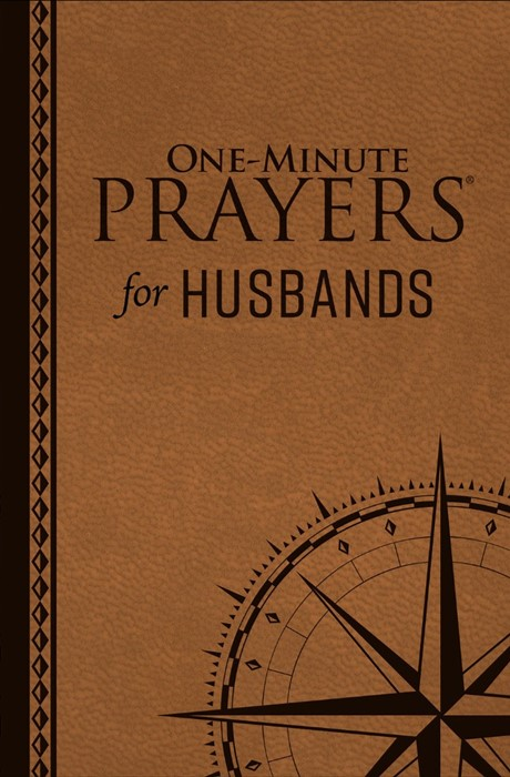 One-Minute Prayers for Husbands Milano Softone (Leather Binding)