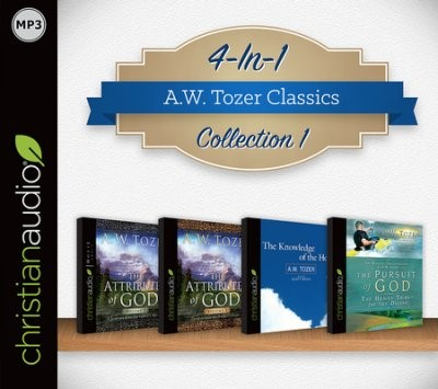 A.W Tozer Classics Collection 1 (4 in 1) (CD- Audio)